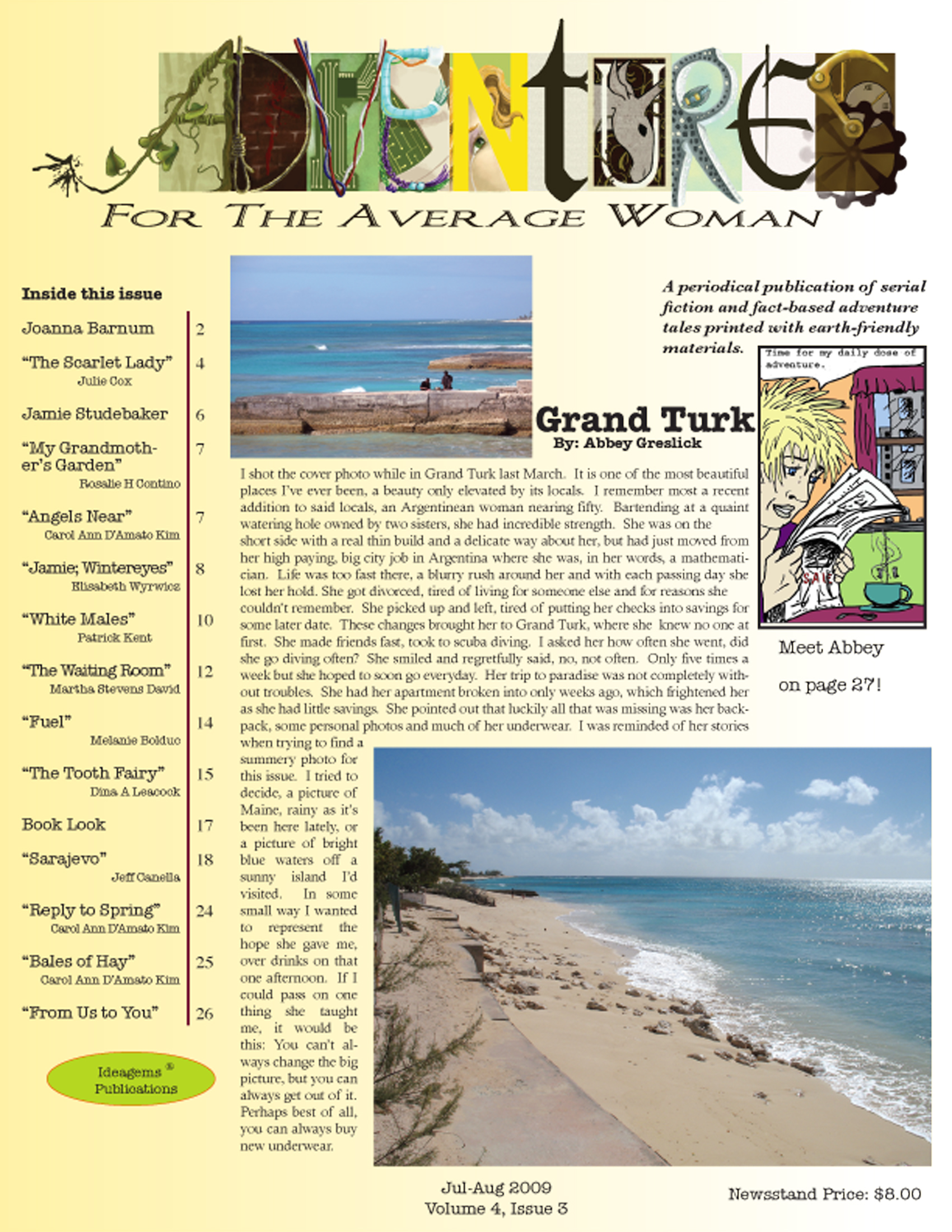 Summer 2009 cover Page